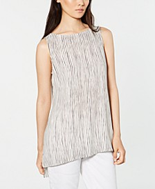 Silk Striped Tank