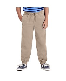 Haggar Boys The Jogger, Reg Fit, Flat Front Pant Size 4 - 7