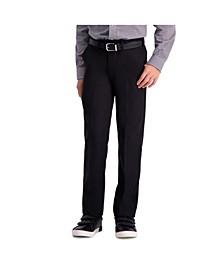 Husky Boys Cool 18 Pro, Reg Fit, Flat Front Pant