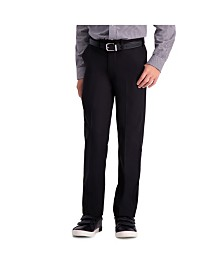 Haggar Boys Cool 18 Pro, Reg Fit, Flat Front Pant Size 8 - 20