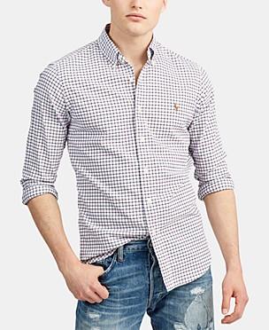 폴로 랄프로렌 Polo Ralph Lauren Mens Classic Fit Oxford Button-Down Shirt
