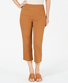 Embellished Pull-On Capri Pants, Created for Macy's