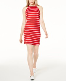 Maison Jules Striped Dress, Created for Macy's