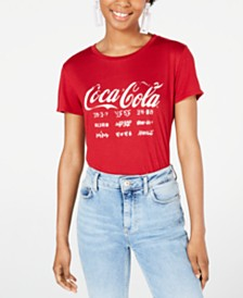 Freeze 24-7 Juniors' Coca-Cola Graphic T-Shirt