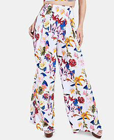 GUESS Emmeline Printed Palazzo Pants