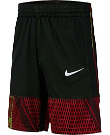 Nike Big Boys Dri-FIT Printed Mesh Shorts