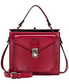 Patricia Nash Carletti Waxed Leather Crossbody