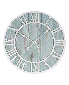 """La Crosse Clock 23.5"""" Harbor Tides Wall Clock"""
