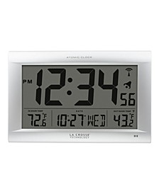Large Digital WWVB clock with Outdoor Temperature