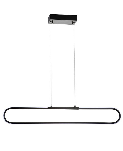 "JONATHAN Y Ned 39"" Dimmable Adjustable Integrated LED Metal Linear Pendant"