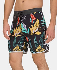 "Hurley Men's Phantom Domino 18"" Graphic Board Shorts"