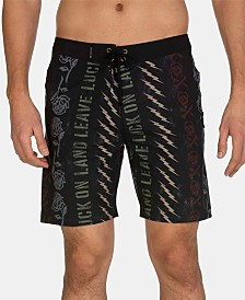 "Hurley Men's Phantom Stamps 18"" Graphic Board Shorts"