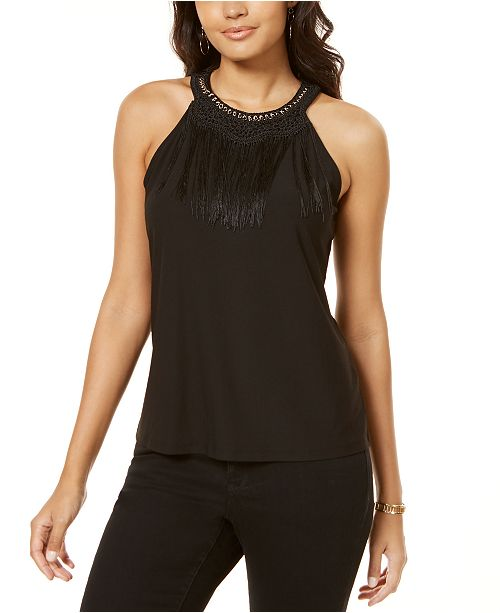INC International Concepts INC Embellished Tank Top, Created for Macy's