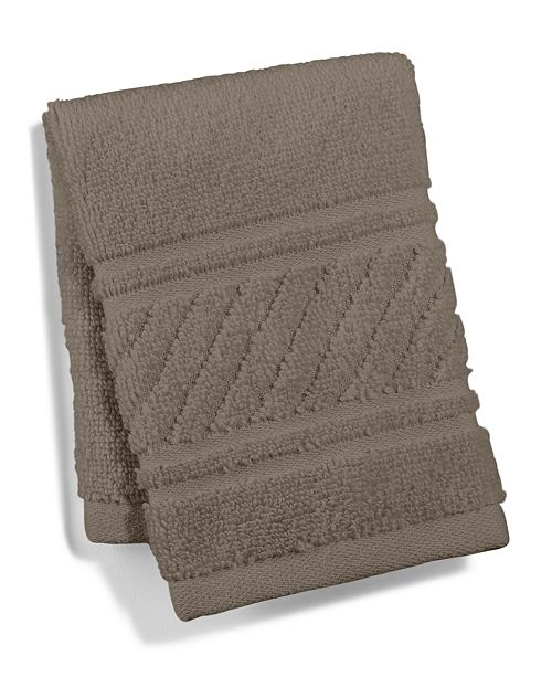 Martha Stewart Collection CLOSEOUT! Spa Washcloth, Created for Macy's