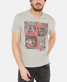 Buffalo David Bitton Men's Tiflora Graphic T-Shirt