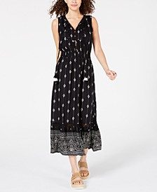 Juniors' Sleeveless Bib Maxi Dress, Created for Macy's