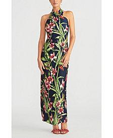 RACHEL Rachel Roy Floral-Print Halter Maxi Dress