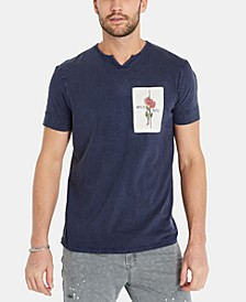 Men's Kirosa Split-Neck T-Shirt
