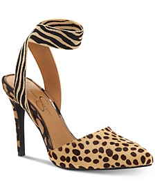 Perinna Ankle Strap Pumps