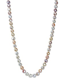 "Cultured Baroque Freshwater Pearl (11-12mm) 36"" Endless Necklace"