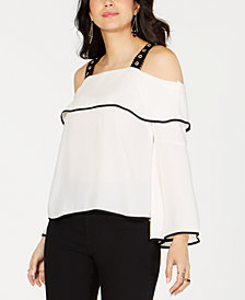 Thalia Sodi Off-The-Shoulder Top, Created for Macy's