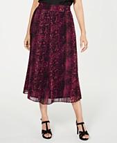 78779ad44451a4 Thalia Sodi Pleated Midi Skirt, Created for Macy's
