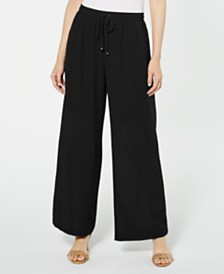 NY Collection Petite Palazzo Pants