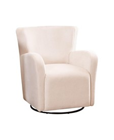 Summer Swivel Accent Chair, Quick Ship