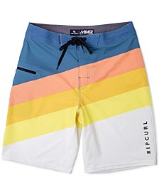"Men's Stripe 20"" Board Shorts"