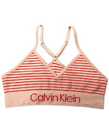 Calvin Klein Little & Big Girls Crop Bra