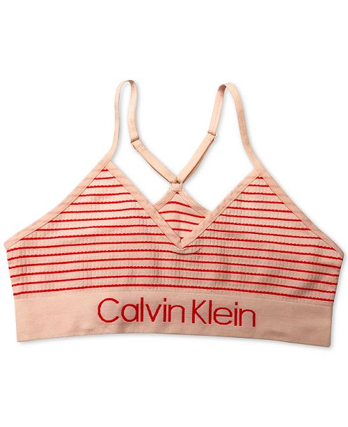 Calvin Klein Little & Big Girls Crop Bra