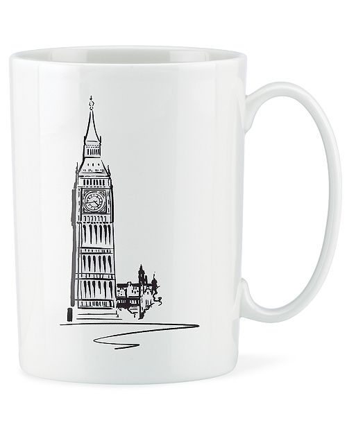 Lenox Dinnerware, Tin Can Alley London Accent Mug