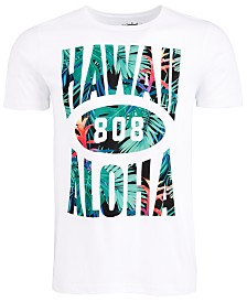 Hawaii 808 Men's Graphic T-Shirt