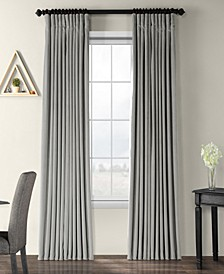 "Signature Extra Wide Blackout Velvet 100"" x 108"" Curtain Panel"