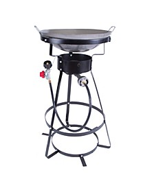 Outdoor Stove With Wok - One Burner