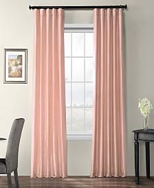 "Exclusive Fabrics & Furnishings Blackout Taffeta 50"" x 84"" Curtain Panel"