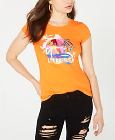 GUESS Glitter LA-Graphic T-Shirt