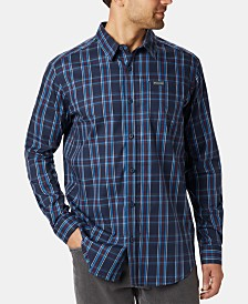 Columbia Men's Big & Tall Vapor Ridge™ III Modern Classic-Fit Plaid Shirt