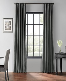 "Exclusive Fabrics & Furnishings Blackout Vintage Textured 50"" x 84"" Curtain Panel"