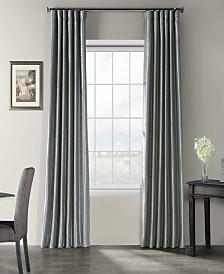 "Exclusive Fabrics & Furnishings Vintage Textured 50"" x 84"" Curtain Panel"