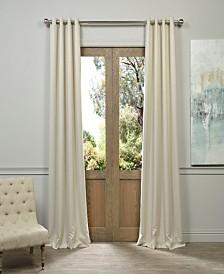 "Exclusive Fabrics & Furnishings Grommet Blackout 50"" x 108"" Curtain Panel"