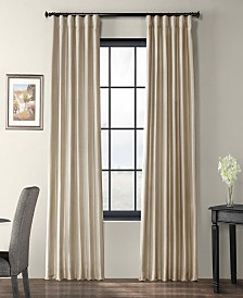 "Exclusive Fabrics & Furnishings Taffeta 50"" x 96"" Curtain Panel"