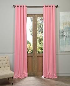 "Exclusive Fabrics & Furnishings Grommet Blackout 50"" x 84"" Curtain Panel"