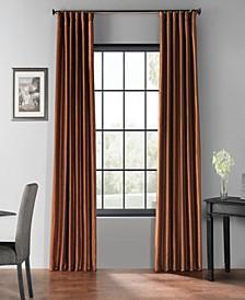 "Blackout Vintage Textured 50"" x 120"" Curtain Panel"