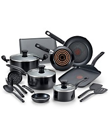 T-fal Culinaire 16-Pc. Nonstick Aluminum Cookware Set