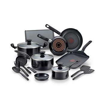 T-Fal Culinaire 16-Piece Nonstick Aluminum Cookware Set