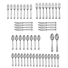 Satin Erving 50-PC Flatware Set, Service for 8