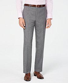 Lauren Ralph Lauren Men's Classic/Regular Fit UltraFlex Stretch Gray Sharkskin Suit Pants