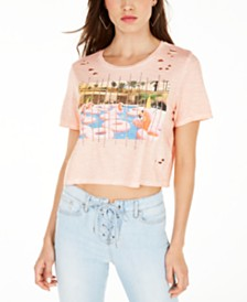GUESS Pool Daze Cropped T-Shirt