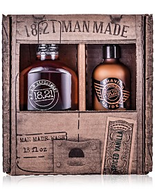 18.21 Man Made 2-Pc. Wash & Glide Gift Set
